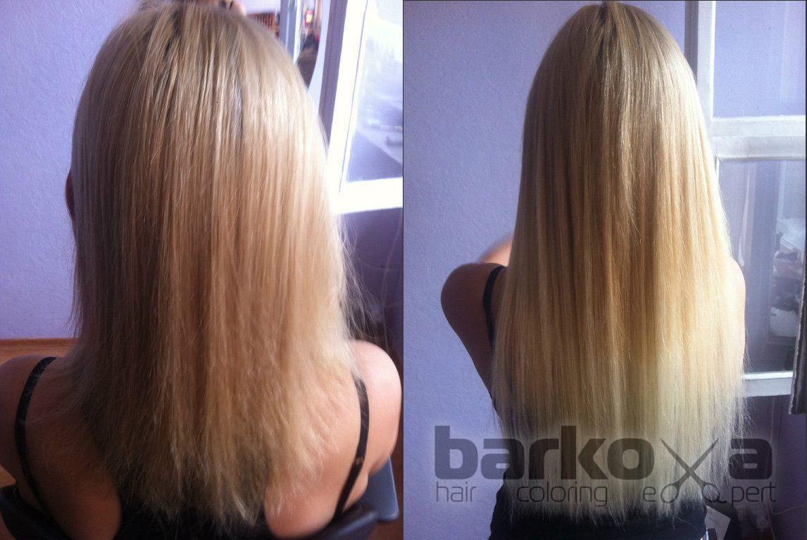 Ленточное наращивание волос екатеринбург