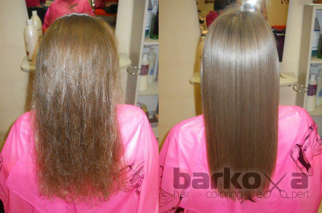 Кератиновое восстановление волос TRISYSCORE