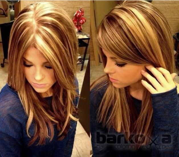 Мелирование и колорирование волос
