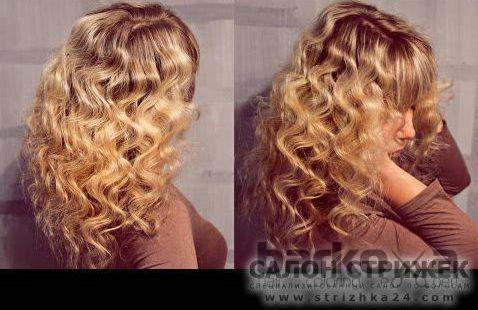 двойная накрутка волос