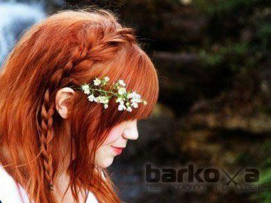 Плетения на среднюю длину волос