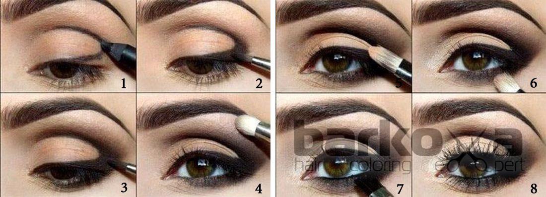 Как сделать красивые глаза макияж