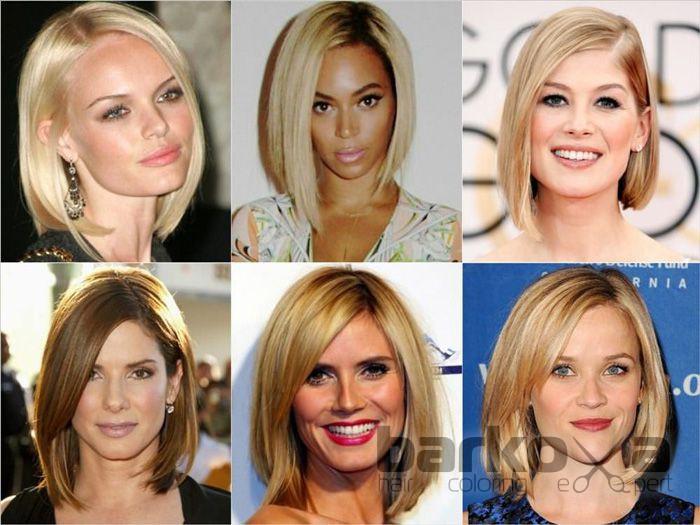 5 модных стрижка волос
