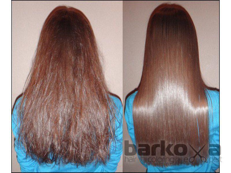 Процедура «Ламинирование» для окрашенных волос