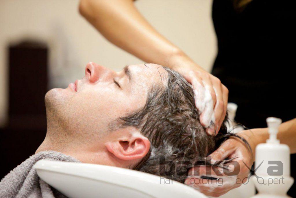 мужская процедура против выпадения волос
